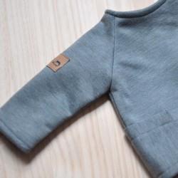 """Jersey """"2en1"""" gris"""