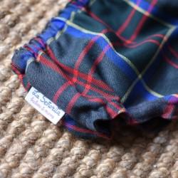 Culotte escocés gris