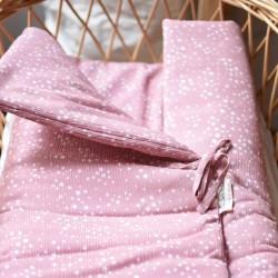 Saco rosa estrellas