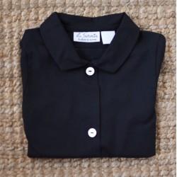 Camisa cuello negra