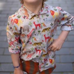 Camisa cuello África
