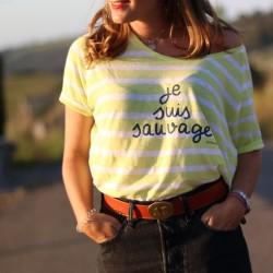Camiseta chica Je Suis Sauvage