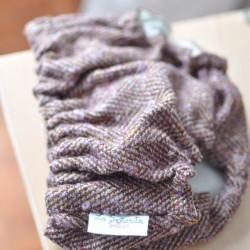 Culotte lana espiga marrón - malva