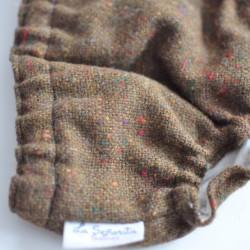 Culotte lana caqui