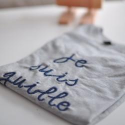 Camiseta personalizada gris manga larga