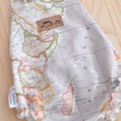 Ranita rayas mapamundi arena