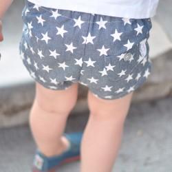 Pantalón vaquero estrellas azul