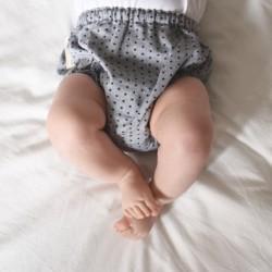 Culotte gris estrellitas