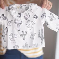 Camisa volante cactus