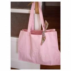 Bolsa personalizada rosa