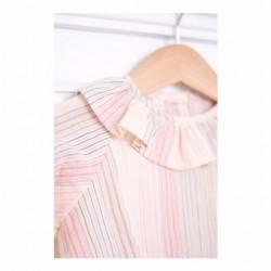 Camisa bebé rayas rosas