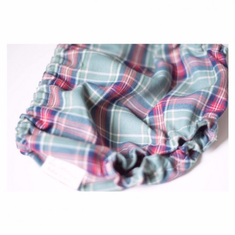 Culotte escocés verde