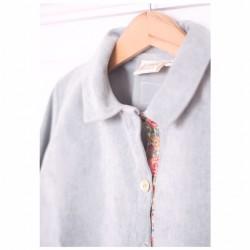 Camisa polera pana gris