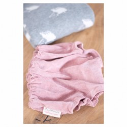 Culotte pana rosa
