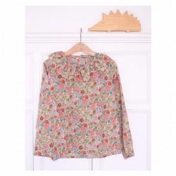 Camisa flores-VARIOS ESTAMPADOS (por encargo)