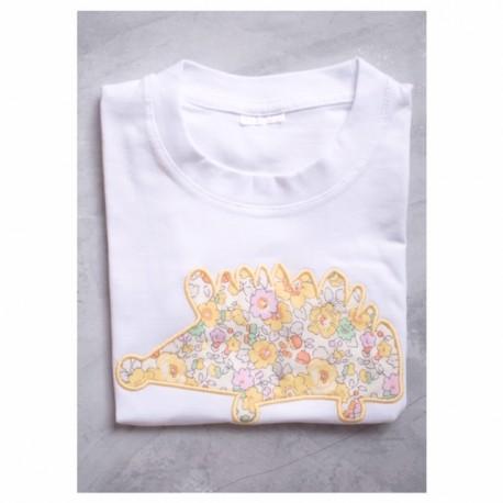 camiseta erizo flores caqui- varios estampados