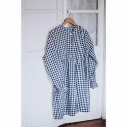 Vestido chica vichy marino -por encargo