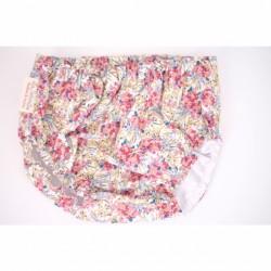 Culotte flores beige rosa