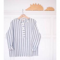 Camisa polera rayas bámbula