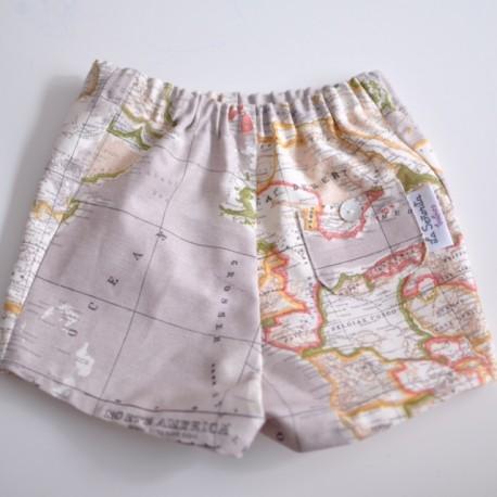 Pantalón mapa arena