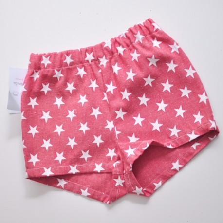 Pantalón vaquero estrellas rojo